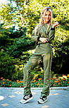 Женский костюм: мастерка и брюки (3 цвета), фото 4