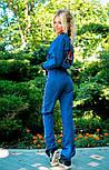 Женский костюм: мастерка и брюки (3 цвета), фото 7