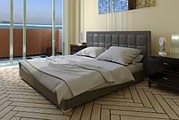 Кровать Спарта с подъемным механизмом с мягким изголовьем двуспальная