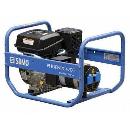 Генератор бензиновый SDMO Phoenix 4200 (4,2кВт), фото 2