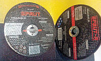 Зачистные диски шлифовальные по металлу Sprut 180 х 6