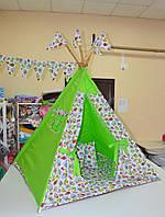 Детский игровой вигвам, палатка, шатер, домик, фото 1