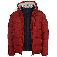Куртка SoulCal Two Zip Bubble Jacket Mens