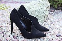 Стильные женские туфельки лодочки