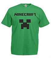 Детская футболка с игрой Minecraft Майнкрафт игра