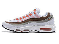 Женские кроссовки Nike Air Max 95 white\brown