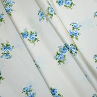 Купить ткань в стиле прованс tomilio розы голубые испания