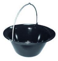 Казан эмалированный на чашу для костра Huch