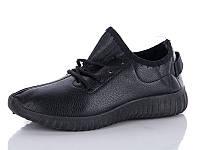 Спортивная модная обувь. Кроссовки  для подростков от фирмы Lion G51 черный (8 пар, 36-41)