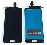Оригинальный дисплей (модуль) + тачскрин (сенсор) для Asus Zenfone 3s Max ZC521TL (черный цвет)
