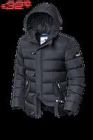 Куртка на меху мужская зимняя с капюшоном Dress Code - 30380N графит