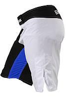 Мужские шорты синие с черным для единоборств и тренировок ММА на липучке