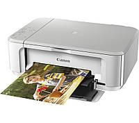 Многофункциональный цветной струйный принтер Canon PIxma MG3650   DUPLEX WIFI (белый)