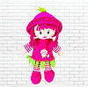 Детская игрушка кукла,мягкая кукла ягодка,фрукт