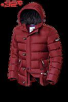 Куртка на меху мужская зимняя Dress Code - 3471C красная