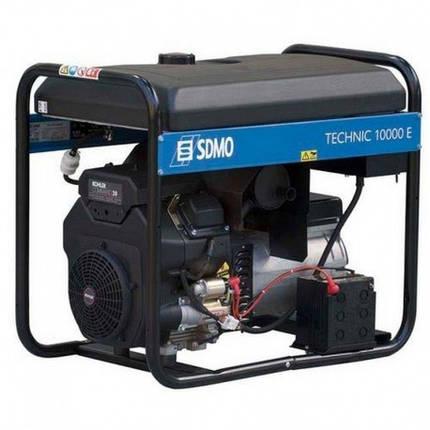 Генератор бензиновый SDMO Technic 10000 E (10,5кВт), фото 2