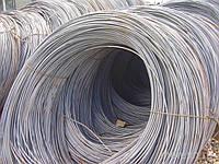 Катанка стальная в бухтах бывает диаметром от 6,5 мм до 12 мм при весе бухты от 0,5т до 2т