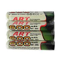 Аккумулятор батарея ART AAA 600mAh