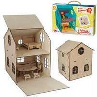 Дом игрушечный (дерево) (Зирка)