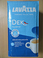 Кофе молотый Lavazza Dek  250г , без кофеина