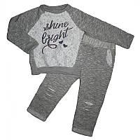Костюм для девочки 1-4года (86-104) кофта+штаны арт.4011