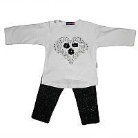 Костюм для девочки 80-92  кофточка +штаны арт.1402