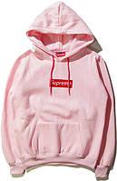 Худи Supreme Pink (ориг.бирка)