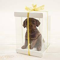 """Шоколадная фигура """"Собака"""" классическое сырье"""