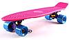 Penny Board FISH 22in (розовый-фиолетовый-синий)