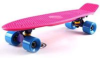 Penny Board FISH 22in (розовый-фиолетовый-синий), фото 1