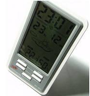 Цифровой термометр dc-801, гигрометр, часы, будильник, календарь