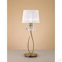 Настольная лампа Mantra 4736 LOEWE ANTIQUE BRASS