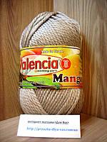 Пряжа мериносовая (24%-меринос, 4%-кашемир, 72%-акрил,150г/105м) Valencia Mango 0000(бежевый)