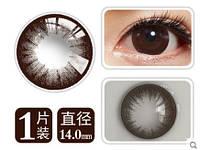Цветные контактные линзы, корея, крейзи, кукольные, увеличивают радужку, черные, голубые, синие, коричневые, к