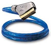 QED AV1050 кабель видео композит - SCART 5м