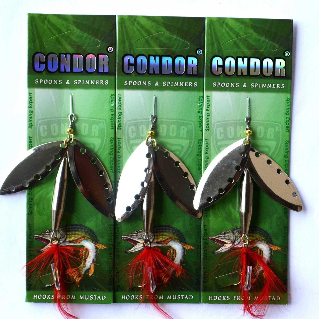 Блесна вращ. двойная Condor (Кондор), цвет205, 20гр
