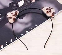 Ободок на голову Ушки леопарда