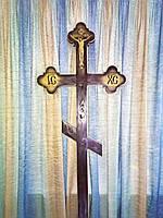 Крест 2-х мачтовый фигурный