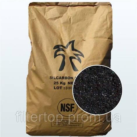 Фильтрующая загрузка Organic CTX-L1000, уголь для удаления сероводорода и железа