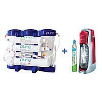 Фильтр Ecosoft P`URE + аппарат для газирования воды