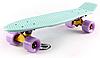 Penny Board FISH 22in (мятный-желтый-фиолетовый)