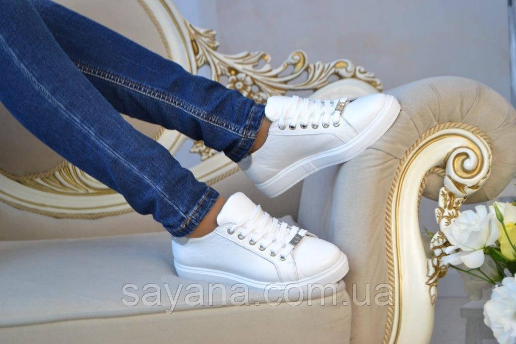 """Женские кожаные кеды """"PHILIPP PLEIN"""", в моделях. ВВ-4-0817"""