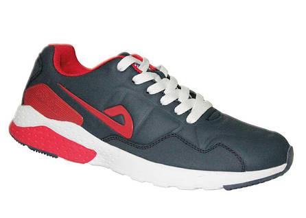 773440fd5f8d Купить женские осенние подростковые кроссовки кожаные в Одессе 36-41 DEMAX  3315 синие, красный