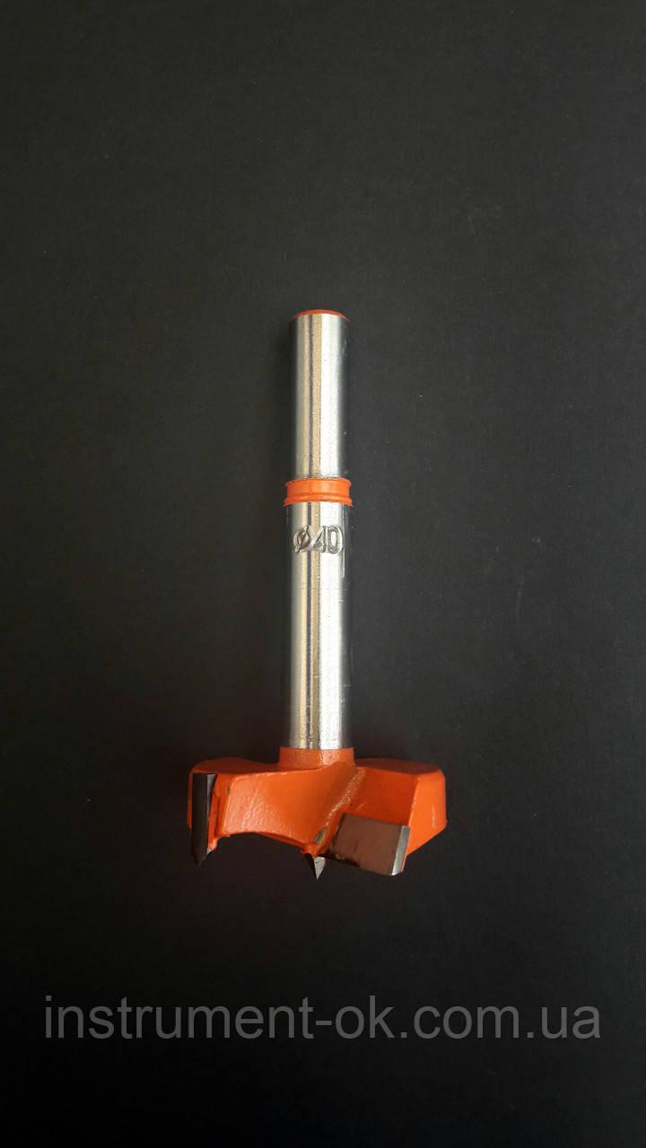 Сверло Форстнера 40 мм под мебельную петлю