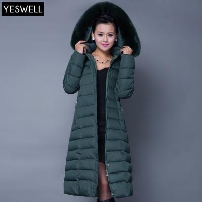 Зимнее женское пальто. С капюшоном. Модель 62103