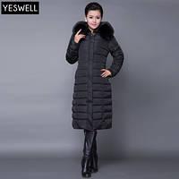 Зимнее женское пальто. С капюшоном. Модель 62103, фото 2