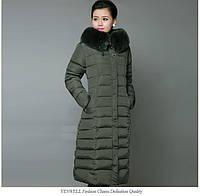 Зимнее женское пальто. С капюшоном. Модель 62103, фото 3