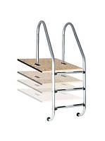Плитка с закладными элементами для лестницы