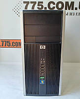 Игровой компьютер HP 6000, Intel Core2Duo E8400 3.0GHz, RAM 4ГБ, HDD 160ГБ,новая Видеокарта GF GT 730 2GB DDR5, фото 1