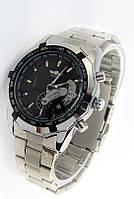 Часы механические с ремешком металлическим